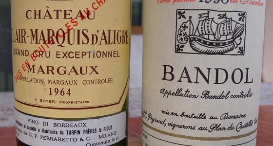 autres bouteilles bues par Laurent 2ème trimestre 2011