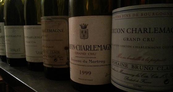 Les vins de Corton-Charlemagne