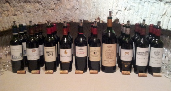 Soirée Grands Bordeaux 2009 chez Bacchus