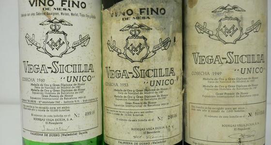 Verticale Vega Sicilia chez Vinosesam