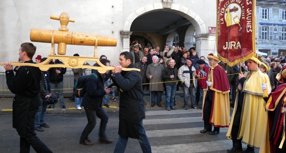 15ème percée du vin jaune à Arbois