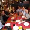 Lunch à Lavinia entre amis