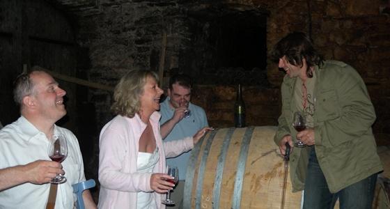 le monde idillyque du vin