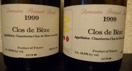 Quelques autres bouteilles bues par Laurent 2ème trimestre 2010