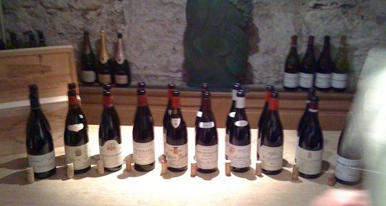 Soirée Bourgogne chez Bacchus