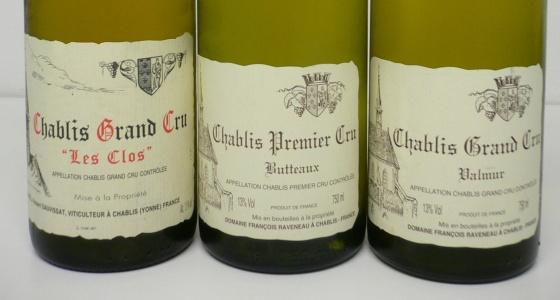 Soirée Grands vins de Chablis