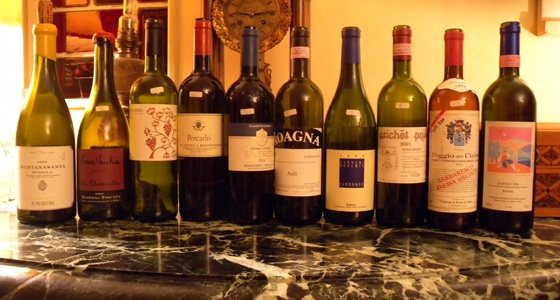 Soirée de vins Italiens chez Philippe
