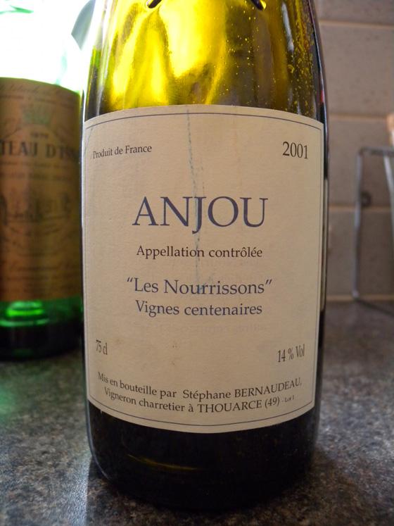 Anjou Les Nourrissons 2001 de Stéphane Bernaudeau