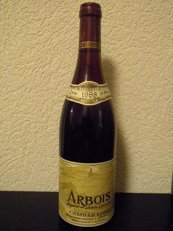 Arbois Rouge Cuvée St Paul 1988 de Camille Loye