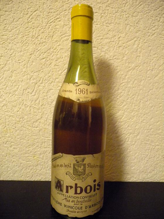 Arbois blanc 1961 de la Fruitière Vinicole d'Arbois