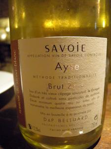 Ayse brut du Mont-Blanc 2005 de Belluard
