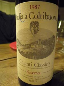Badia Chianti 1987