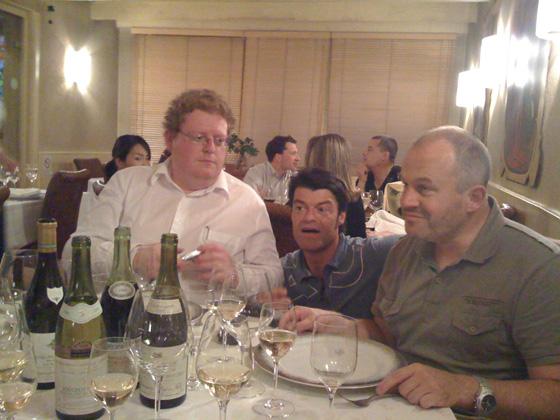 Benoît, Fabrizio et Patrick