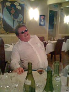 Benoît mimant Montagné