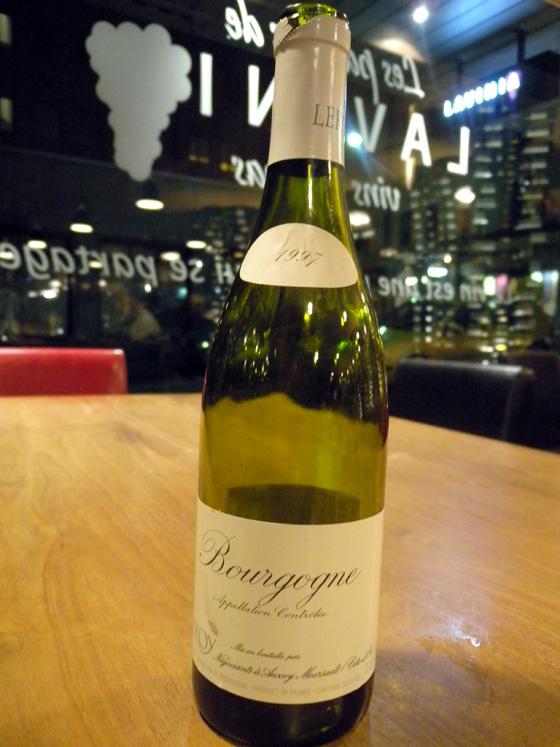Bourgogne blanc 1997 - Maison Leroy