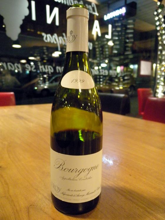 Bourgogne rouge 1999 - Maison Leroy