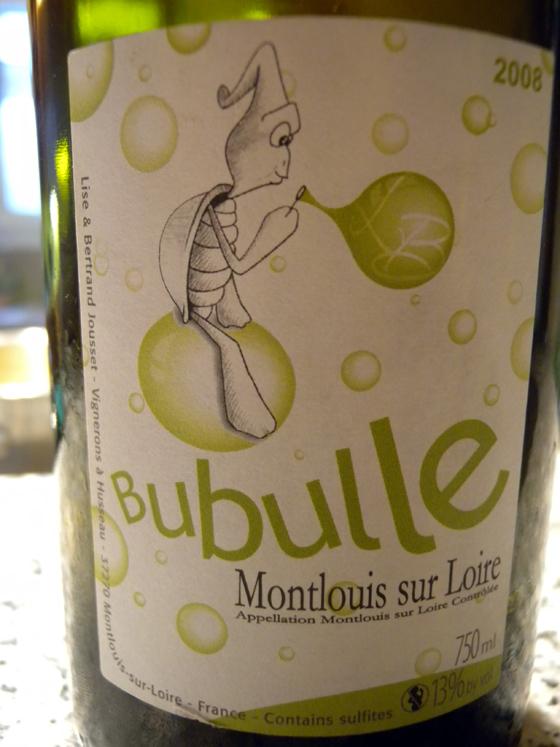 Bubulle 2008 de Jousset (Montlouis sur Loire)