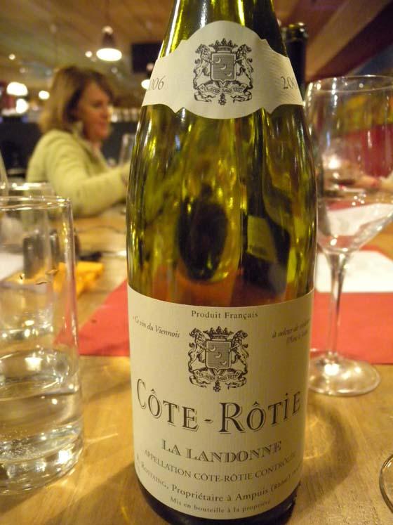 Côte-Rôtie Landonne 2006 de René Rostaing