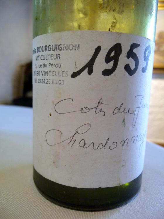 Côtes du Jura Blanc 1959 d'Emile Bourguignon