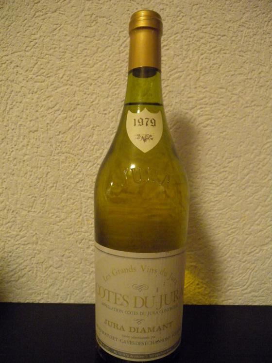 Côtes du Jura Diamant 1979 de Bouveret