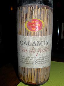 Calamin vin de paille demi-fétri sec 1967