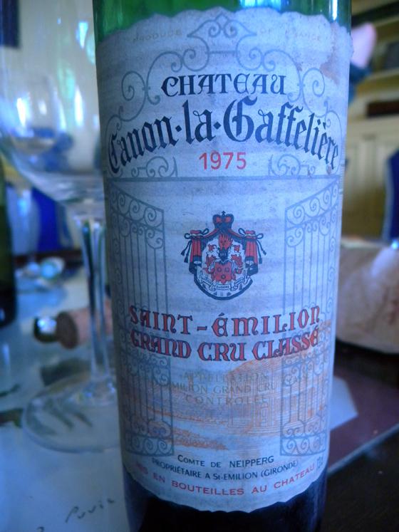 Château Canon La Gaffelière 1975