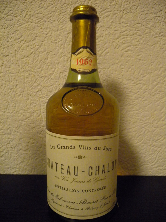 Château Chalon 1962 de Bouvret Père et Fils