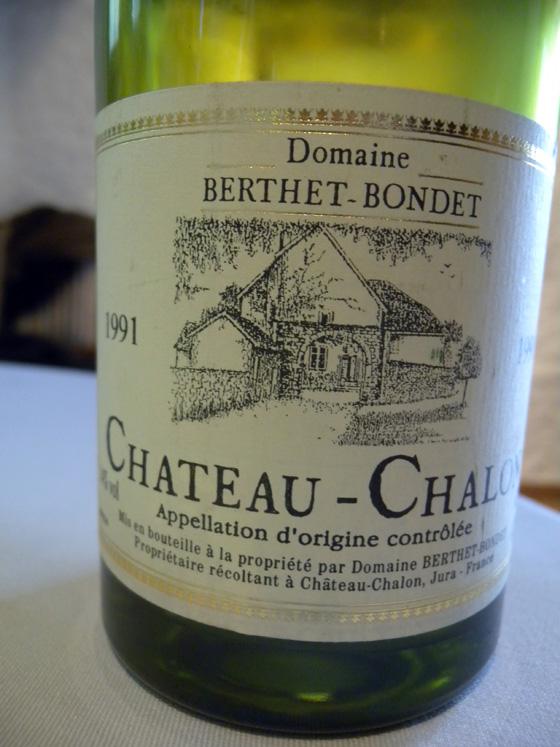 Château-Chalon 1991 du Domaine Berthet-Bondet