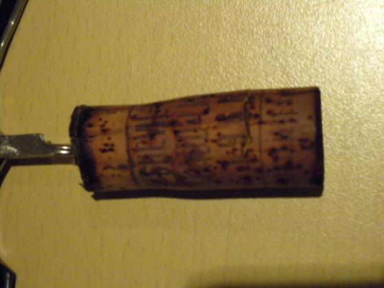 Château Cheval Blanc 1966 bouchon bis