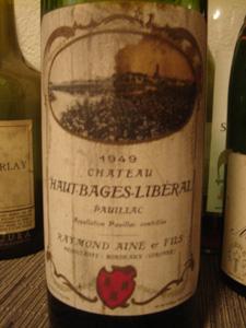 Château Haut Bages-Libéral 1949