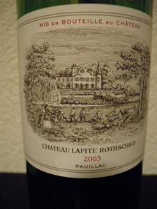 Château Lafite Rothschild 2003