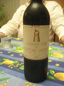 Château Latour 1986