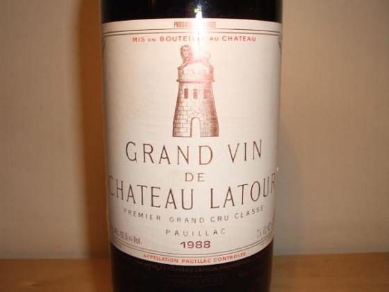 Château Latour 1988