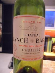 Château Lynch Bages 1981