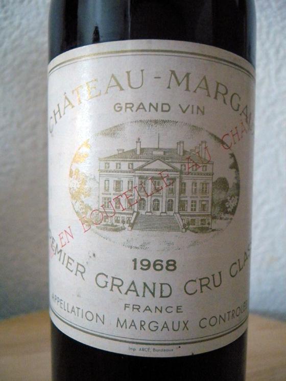 Château Margaux 1968