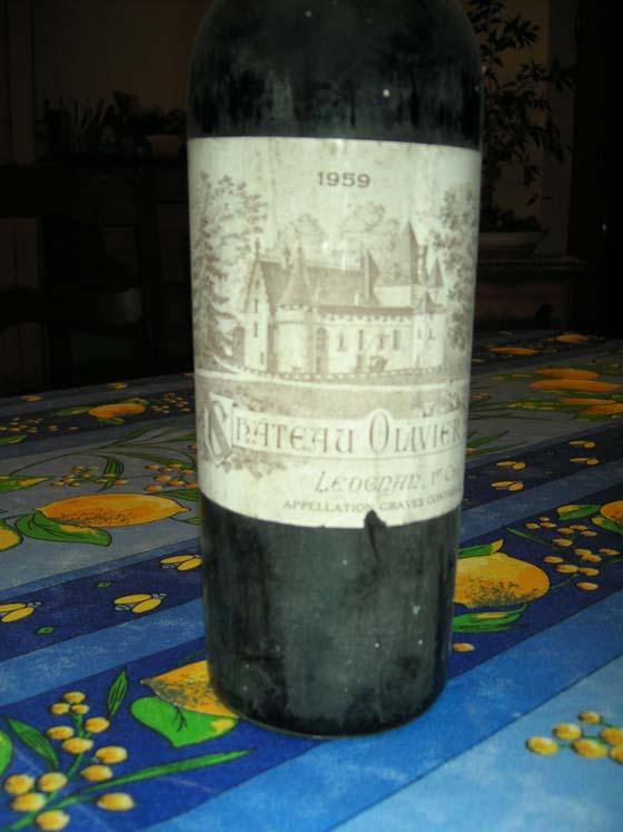 Château Olivier 1959