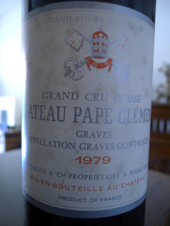 Château Pape Clément 1979