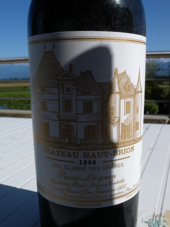 Château Pavie 1988 étiquette
