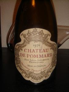 Château Pommard 1970 JL Laplanche