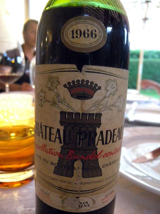 Château Pradeaux 1966