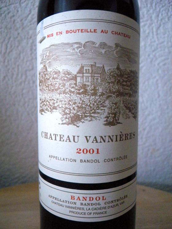 Château Vannières 2001