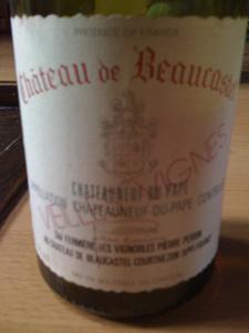 Château de Beaucastel vieilles vignes blanc