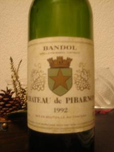 Château de Pibarnon 1992