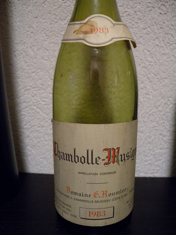Chambolle-Musigny 1983 de G