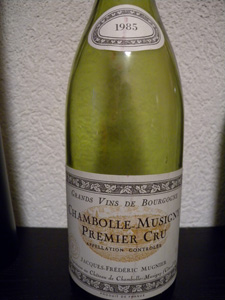 Chambolle-Musigny 1er cru 1985