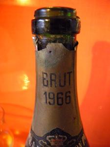 Champagne A de Bourbon Parme brut 1966 bis
