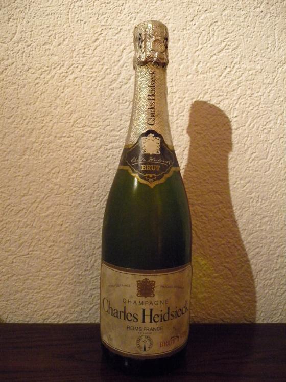 Champagne Charles Heidsieck 1976