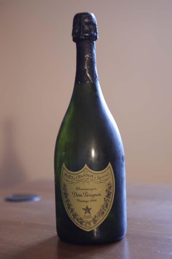 Champagne Dom Pérignon 1996