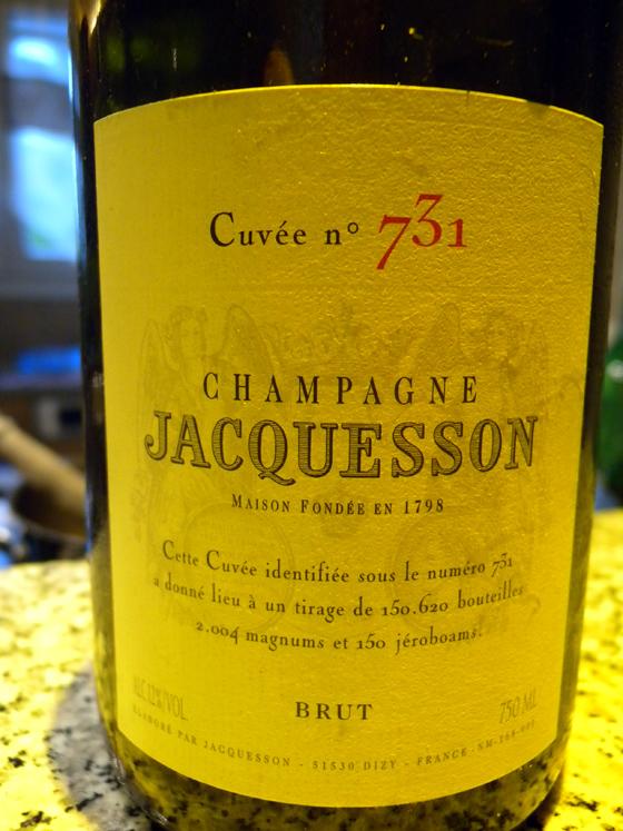 Champagne Jacquesson cuvée 731