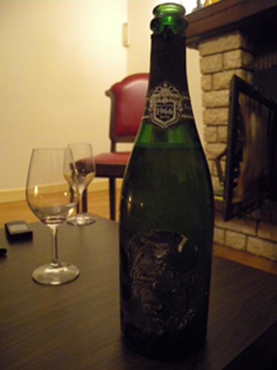 Champagne Laurent Perrier millésimé 1966